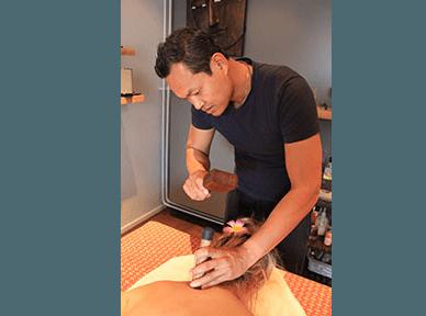 Toksen massage techniek