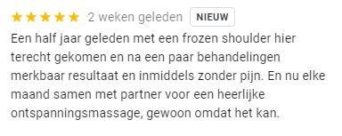 Frozen schouder